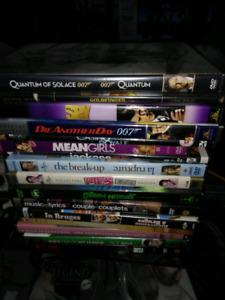 James bond and other DVD's