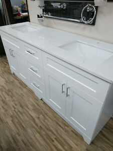 MUST SEE MOVING SALE VANITIES MAPLE & MDF, YOU WON'T REGRET IT!