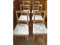 Ikea Dining Chairs x 6