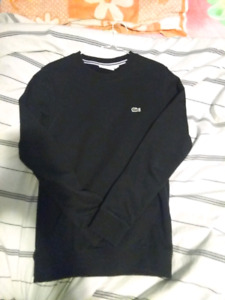 Lacoste Sweatshirt Crewneck Black Medium Men