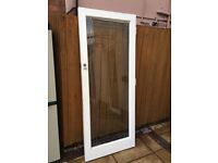 FREE Glass Door With A Wooden Frame