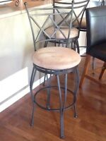 3  breakfast barstools