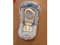 BABY BOUNCER/SEAT BLUE.