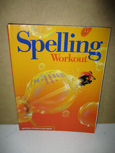 NEW Spelling Workout D Workbook Kitchener / Waterloo Kitchener Area image 1