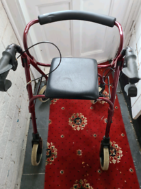 Disabled sit an walking aid
