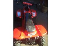 110 cc four stroke quad