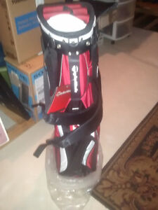 Brand new Red,White and Black brand new golf stand bag