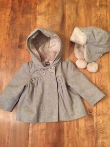 18- 24 months Gap girl jacket and hat
