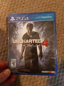 Uncharted 4 new in package
