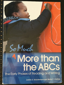 So much more than ABC's