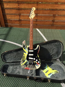 Fender Splattercaster Stratocaster Electric Guitar 2003-2004
