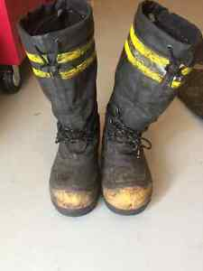 Work boots and clothing