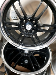 Set of 4 aluminium rims 18""