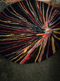 A round rug