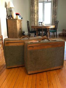 Vintage Hartmann suitcases