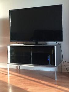 Panasonic TV + Stand + Denon receiver + Harman Kardon Speakers