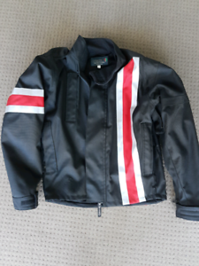 Corazzo Black with Red - Riding Jacket