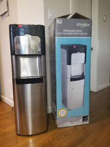 Whirpool hot&cold self clean bottom load water cooler.Like new .