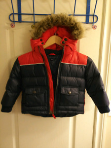 AUTHENTIC TOMMY HILFIGER TODDLERS SIZE 4 -DOWNFILLED COAT/JACKET