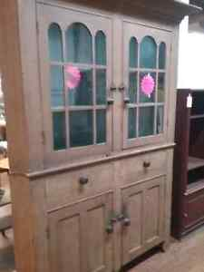 Just in Waterloo County corner cupboard