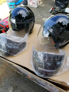 For sale 2 HCI open face motorcycle  helmets M & XL