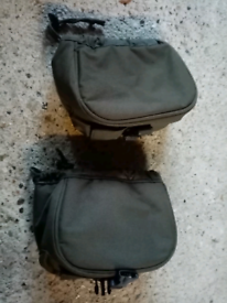 2 x nash small reel pouches