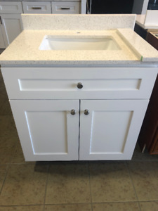 ---SOLID WOOD 24 and 30 Inches Vanity Set $399.00 ONLY