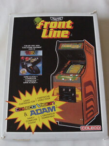 COLECO Video Game: FRONT LINE