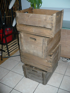 caisses de pommes bois acheter et vendre dans qu bec petites annonces class es de kijiji. Black Bedroom Furniture Sets. Home Design Ideas