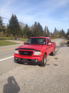 2008 FORD RANGER EXCAB  2WD V6 AUTO 157000KMS