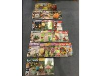 Complete Landscape Magazine Collection 5 1/2 years worth!