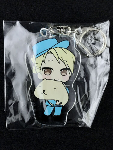 Fullmetal Alchemist Acrylic Key Holder Ring PRINCESS CAFE Kapibara Riza Hawkeye