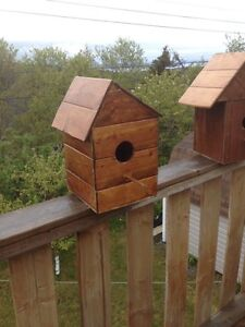 Brand New Homemade Birdhouses
