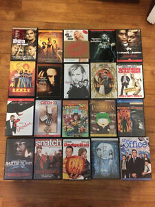 20$ for 20 DVD's