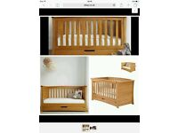 Mamas & Papas Nursery Furniture '4 Piece OCEAN OAK Range'