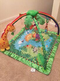 Fisher price rainforest baby gym mat