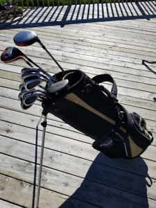 Wilson Fatshaft Irons with TaylorMade Driver - RH - 9/10