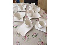 Villeroy & Boch Coffee Cups & Snack Plates