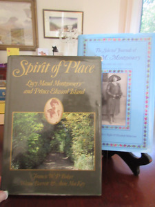 2 Books about L.M. Montgomery  and her PEI home
