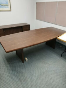 SOLD!!!   Office Furniture and Pictures