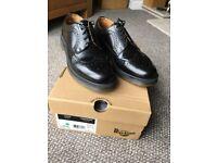 Dr martens 3989 brogue shoes Black size 8