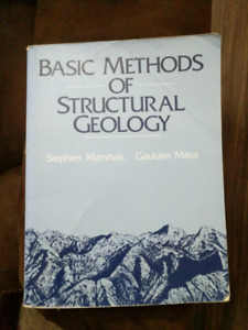 Structural Geology Book for sale!