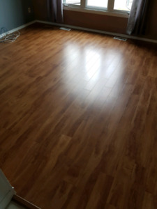 Used laminate floor for sale