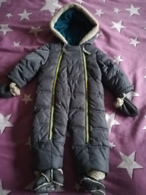 Ted Baker snowsuit 6-9 months
