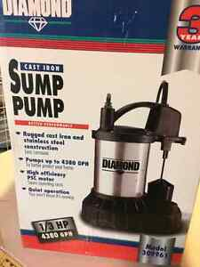 Sump Pump (brand new, never out of the box) London Ontario image 1