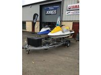 New Twin jet ski trailer