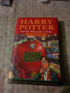 ** 1st ed Harry Potter and the philosophers stone, with error*** Kitchener / Waterloo Kitchener Area image 1