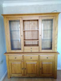 Dresser sideboard display cabinet