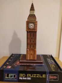 3D Big Ben puzzle