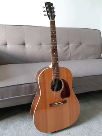 2016 Gibson J-15 acoustic in antique natural w/ original hard case